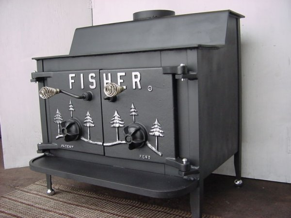 Any Body Have A Fisher Moma Bear Stove I Like Mine Firewood Hoarders Club